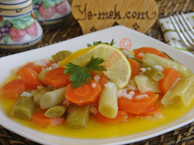 Zeytinyağlı Yemek Tarifleri Malzemeleri